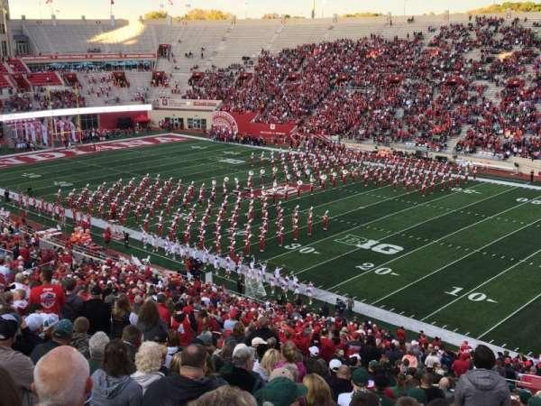 Memorial Stadium (Indiana), secção: 102, fila: 5, lugar: 1