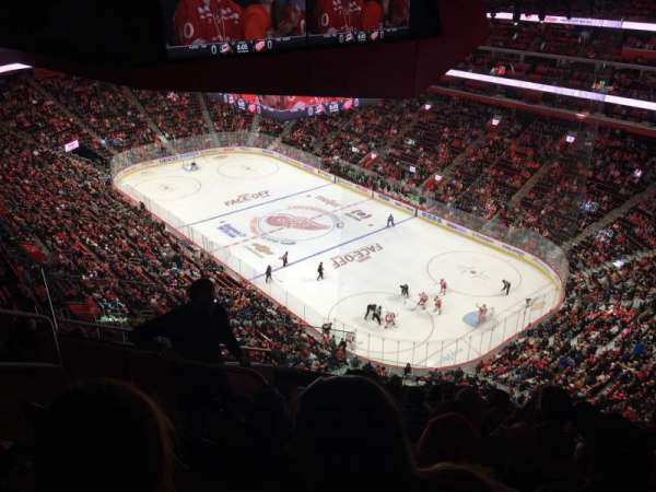 Little Caesars Arena, secção: 207, fila: 8, lugar: 9