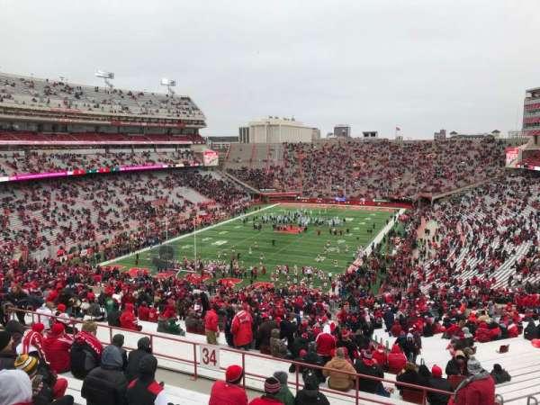 Memorial Stadium (Lincoln), secção: 34, fila: 91, lugar: 10