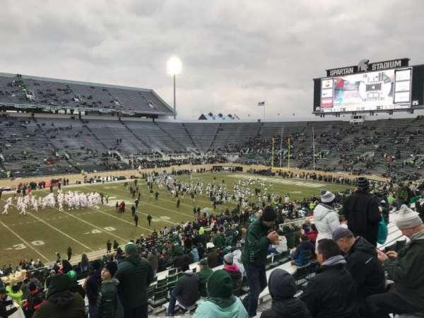 Spartan Stadium, secção: 25, fila: 45, lugar: 28