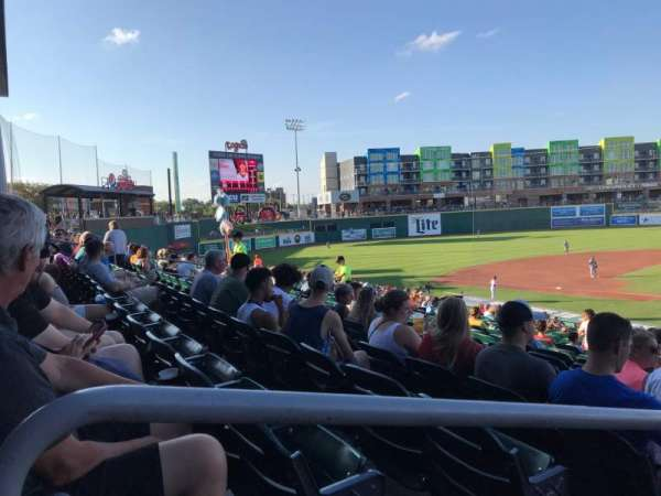 Cooley Law School Stadium, secção: L, fila: 27, lugar: 19