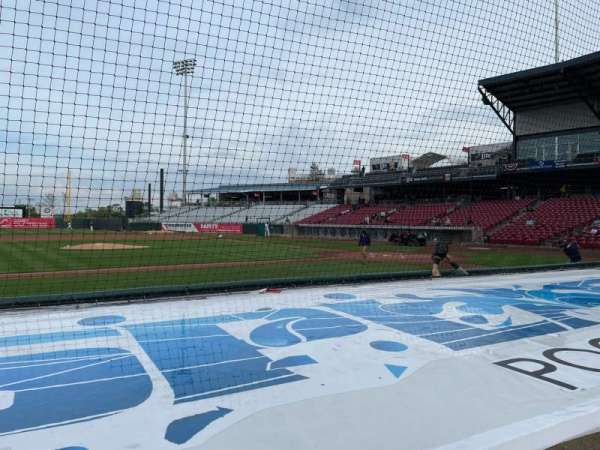 Veterans Memorial Stadium (Cedar Rapids), secção: 116, fila: E, lugar: 1