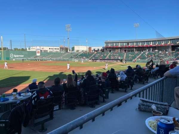 Jackson Field, secção: Pepsi, fila: 3, lugar: 108