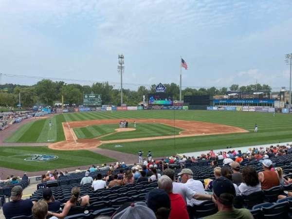 Fifth Third Ballpark, secção: 114, fila: 23, lugar: 13