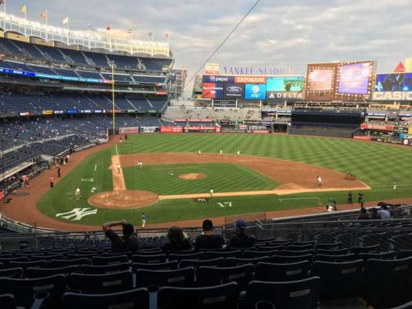 Yankee Stadium, secção: 218A