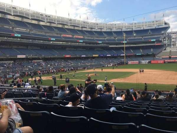Yankee Stadium, secção: 114b, fila: 15, lugar: 11