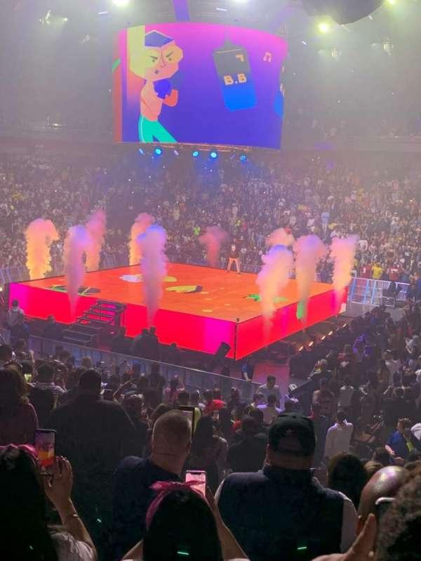 Mohegan Sun Arena, secção: 14, fila: P