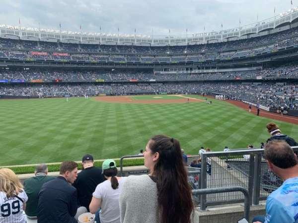 Yankee Stadium, secção: 236, fila: 7