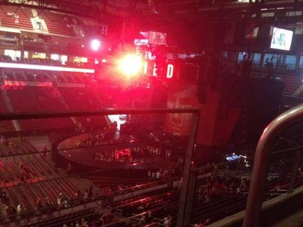 Wells Fargo Arena, secção: 205, fila: B, lugar: 1