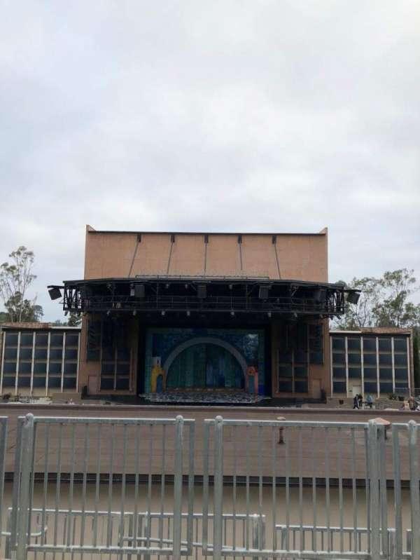 Moonlight Amphitheatre, secção: Balcony, fila: AA