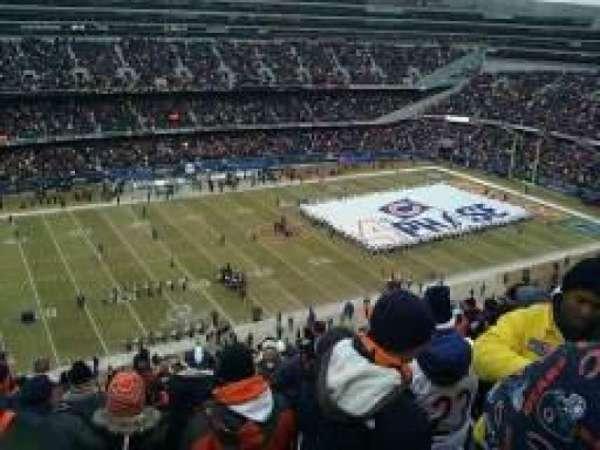 Soldier Field, secção: 441, fila: 16, lugar: 17