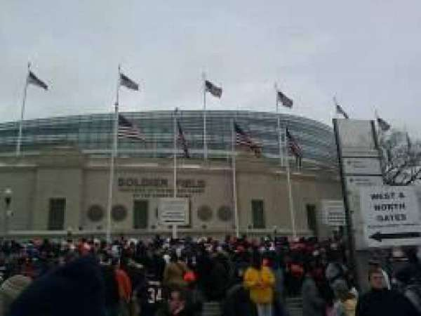 Soldier Field, secção: Gate 0