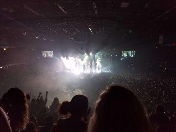 Allstate Arena, secção: 214, fila: N, lugar: 17