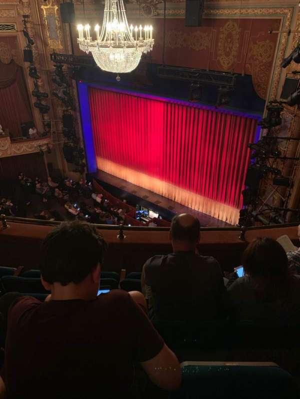 Longacre Theatre, secção: Balcony R, fila: D, lugar: 21