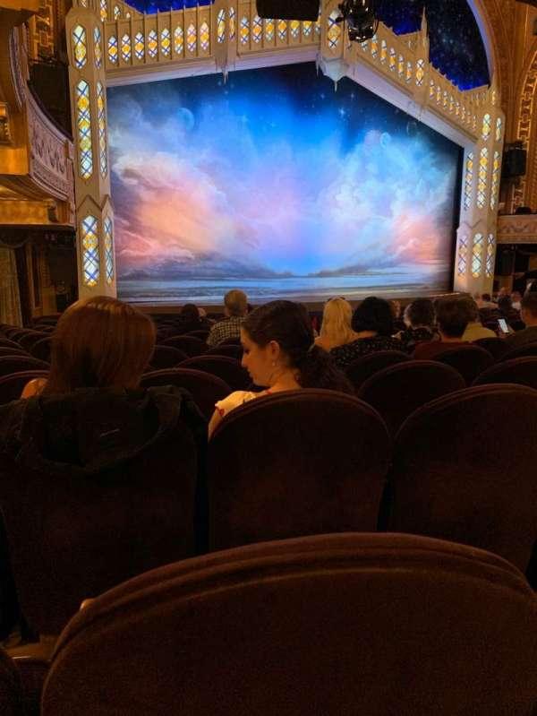 Eugene O'Neill Theatre, secção: Orchestra L, fila: P, lugar: 21