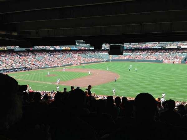 Oriole Park at Camden Yards, secção: 13, fila: 13, lugar: 9