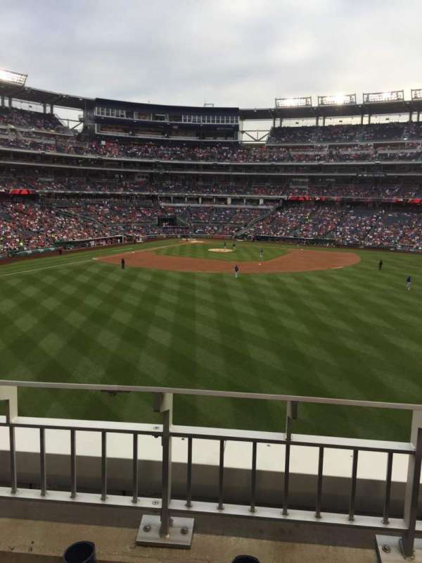 Nationals Park, secção: 242, fila: B, lugar: 22