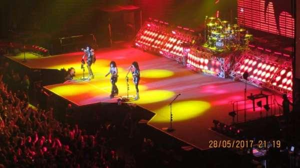 Arena Birmingham, secção: 02, fila: NN, lugar: 57