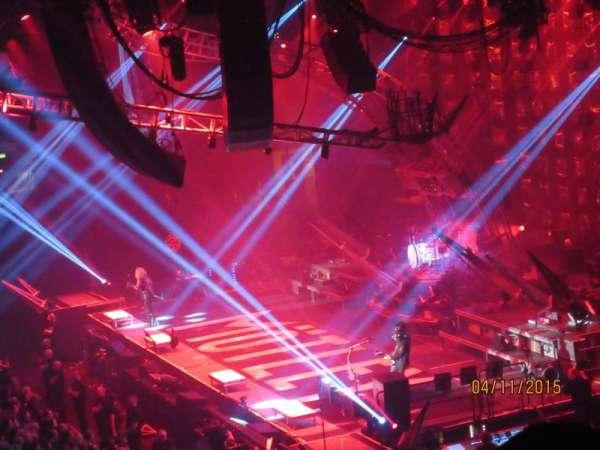Arena Birmingham, secção: 2, fila: YB, lugar: 43