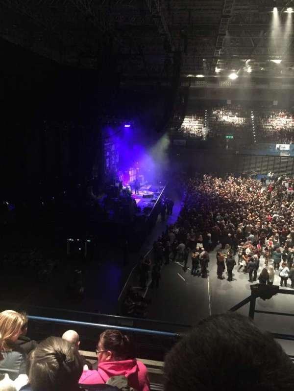 Arena Birmingham, secção: 11, fila: EE, lugar: 455