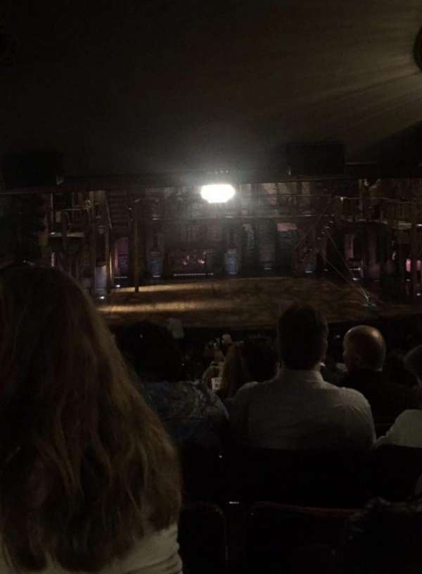 Richard Rodgers Theatre, secção: Orchestra C, fila: W, lugar: 110