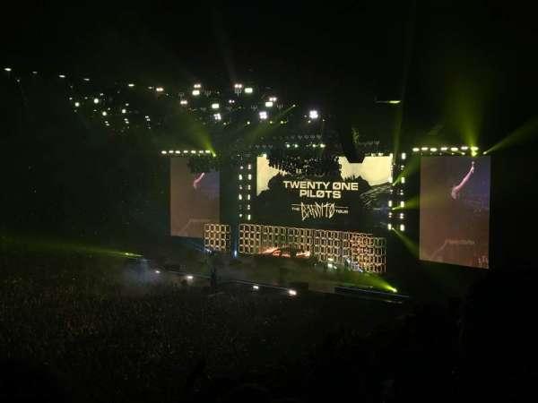Manchester Arena, secção: 113, fila: V, lugar: 21