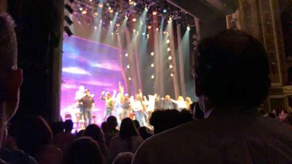 Cadillac Palace Theater, secção: Orchestra L, fila: G, lugar: 25