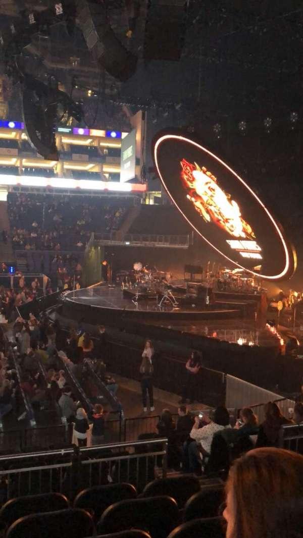 The O2 Arena, secção: 112, fila: N, lugar: 375