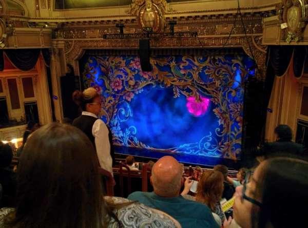 Hippodrome Theatre, secção: Right Middle Balcony, fila: H, lugar: 202-204