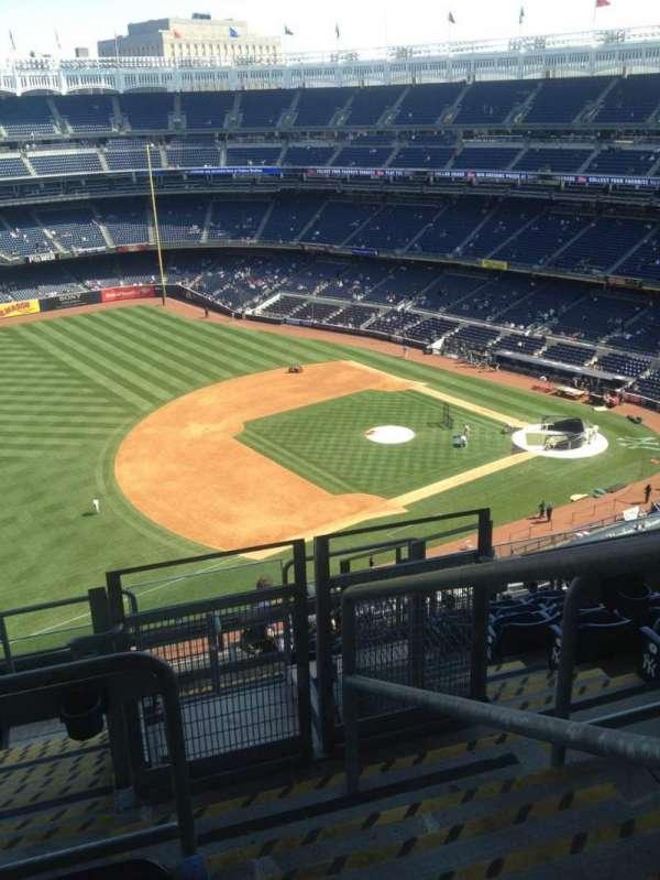 Yankee Stadium, secção: 428, fila: 9, lugar: 1