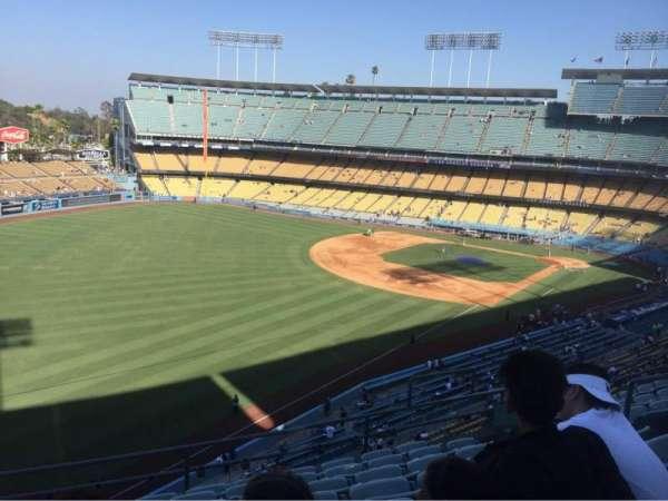 Dodger Stadium, secção: 47RS, fila: H, lugar: 9