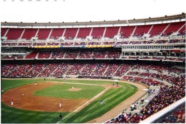 Great American Ball Park, secção: 412, fila: A, lugar: 11