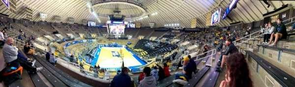 Mackey Arena, secção: 115, fila: 11, lugar: 9