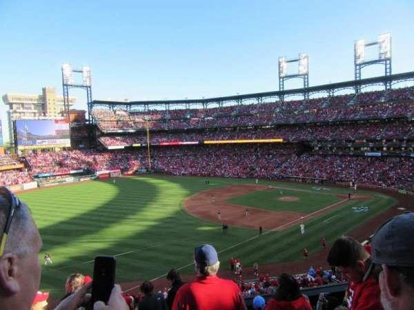 Busch Stadium, secção: 265, fila: 7, lugar: 17