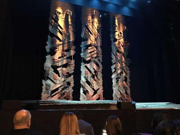 Orpheum Theatre (San Francisco), secção: ORCHESTRA LC, fila: B, lugar: 117