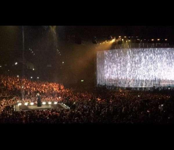 Staples Center, secção: 105, fila: 19, lugar: 2