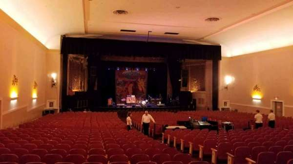 Keswick Theatre, secção: Back Left, fila: Z, lugar: 11