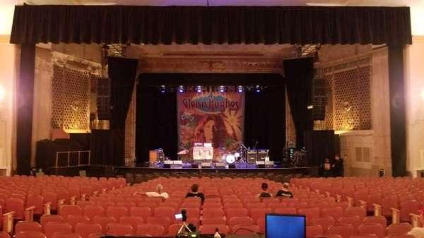 Keswick Theatre, secção: Middle Center, fila: K, lugar: 107