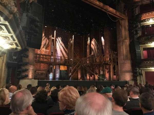 CIBC Theatre, secção: Orchestra L, fila: L, lugar: 17