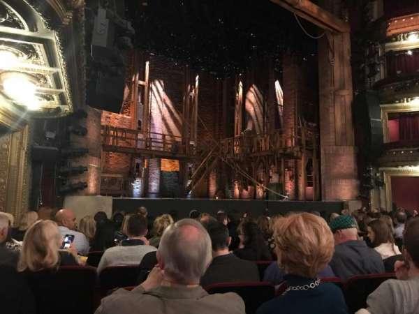 CIBC Theatre, secção: Orchestra L, fila: L, lugar: 19