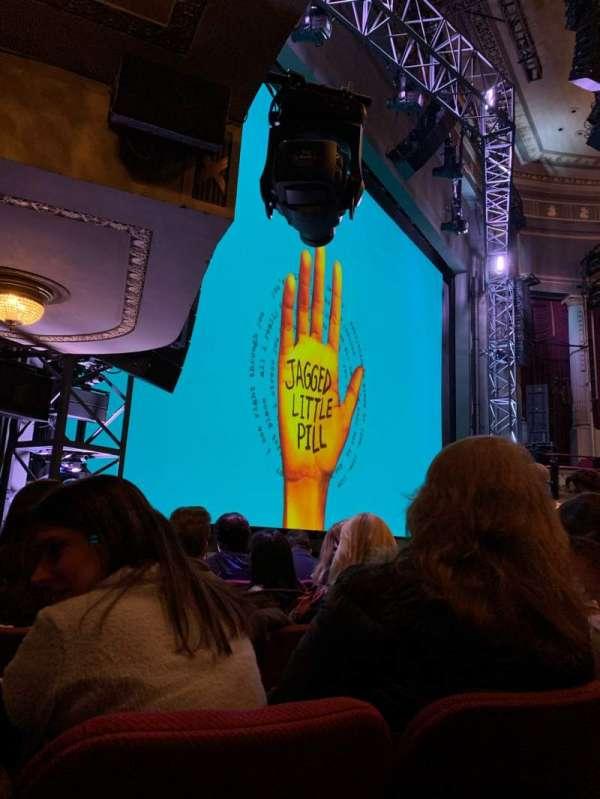 Broadhurst Theatre, secção: Orchestra L, fila: G, lugar: 21
