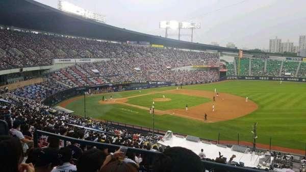 Jamsil Baseball Stadium, secção: 306, fila: 4, lugar: 46