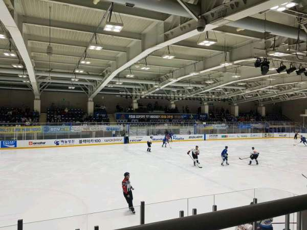 Anyang Ice Hockey Rink, secção: 5, fila: B, lugar: 18