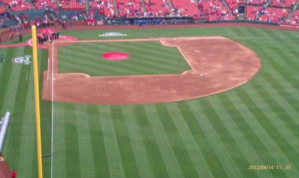 Busch Stadium, secção: 428, fila: 11, lugar: 26