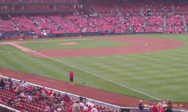 Busch Stadium, secção: 132, fila: 23, lugar: 11