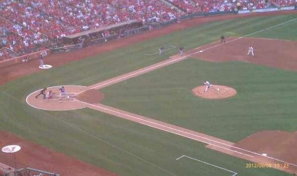 Busch Stadium, secção: 340, fila: 3, lugar: 15
