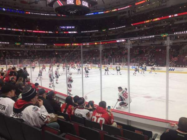 United Center, secção: 119, fila: 6, lugar: 13