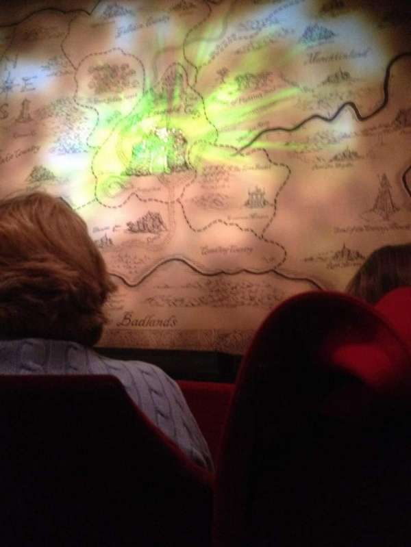 Oriental Theatre, secção: ORCH-C, fila: B, lugar: 113