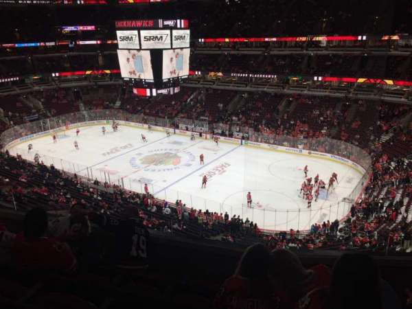 United Center, secção: 314, fila: 5, lugar: 7