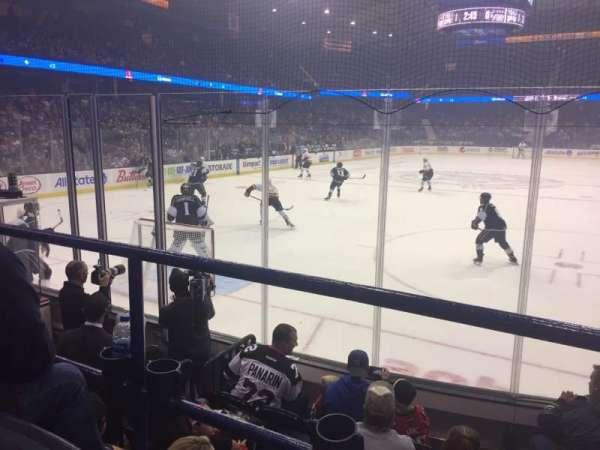 Allstate Arena, secção: 106, fila: D, lugar: 8